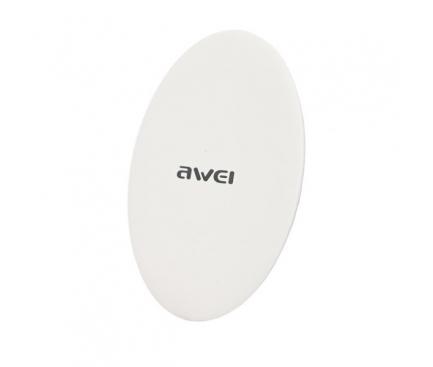 Incarcator Retea Wireless Awei W5, 5W, Alb, Blister