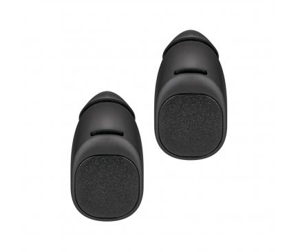 Handsfree Casti Bluetooth Forever TWE-200 + husa cu incarcare, SinglePoint, Negru, Blister