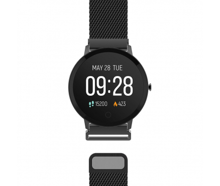 Ceas Smartwatch Forever ForeVive SB-320, Negru, Blister