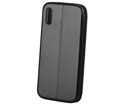 Husa Piele OEM Elegance pentru Xiaomi Mi CC9 / Xiaomi Mi Note 10, Neagra