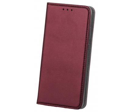 Husa Piele OEM Smart Magnetic pentru Xiaomi Mi Note 10 / Xiaomi Mi CC9, Visinie