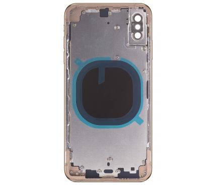 Capac Baterie - Carcasa Mijloc Auriu Apple iPhone XS