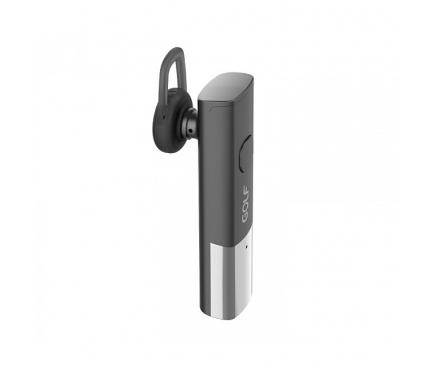 Handsfree Casca Bluetooth Golf B8, MultiPoint, Gri - Negru, Blister