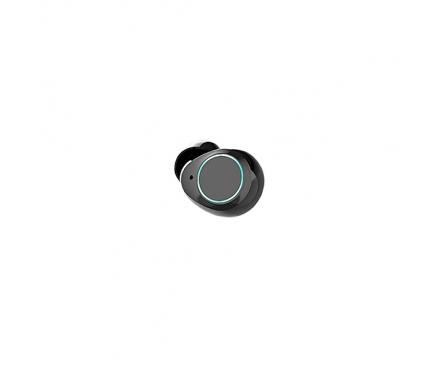 Handsfree Casti Bluetooth HAMTOD K2 TWS IPX5, Cu husa incarcare, Negru, Blister