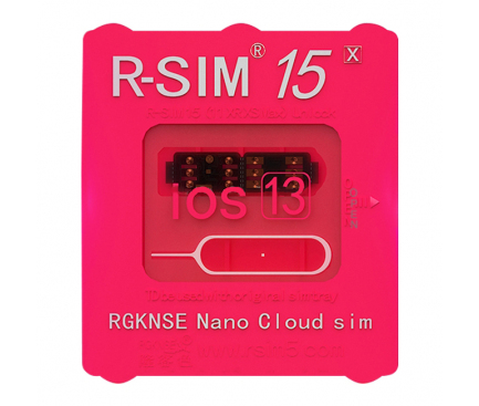 Sim Deblocare R-Sim15 Pentru Apple IPhone 6 / 7 / 8 / 8 Plus / X / XS / 11 /11 Pro / 11 Pro Max, Blister