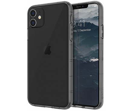Husa TPU UNIQ Air Fender Antisoc Apple iPhone 11, Gri, Blister