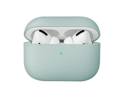 Husa TPU Uniq Lino pentru Apple Airpods 1 / 2, Verde, Blister