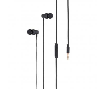 Handsfree Casti In-Ear Tellur Basic Lyric, Cu microfon, Jack 3.5 mm TLL162232