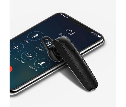 Handsfree Casca Bluetooth XO Design B20, MultiPoint, Negru, Blister