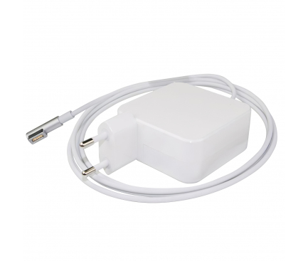 Incarcator retea universal Akyga, cu conector Magsafe pentru Macbook Air, 14.5V / 3.10A, 45W, 1.7m, Alb AK-ND-62