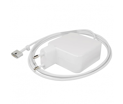 Incarcator retea universal Akyga,cu conector Magsafe 2 pentru Macbook Air, 14.85V / 3.05A, 45W, 1.7m, Alb AK-ND-63