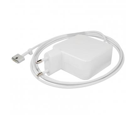 Incarcator retea universal Akyga, cu conector Magsafe 2 pentru Macbook Pro, 16.5V / 3.65A, 60W, 1.7m, Alb AK-ND-64