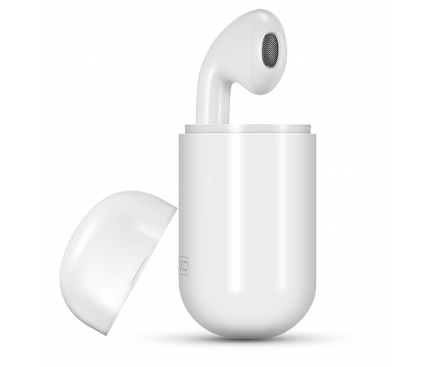 Handsfree Casca Bluetooth XO Design BE2, SinglePoint, Alb, Blister