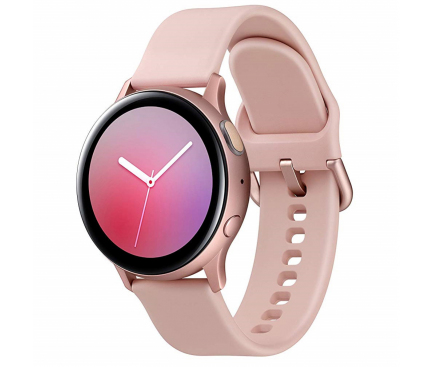 Ceas Bluetooth Samsung Galaxy Watch Active2, Aluminium, 44mm, Roz Auriu, Blister Original SM-R820NZDAROM Reconditionat
