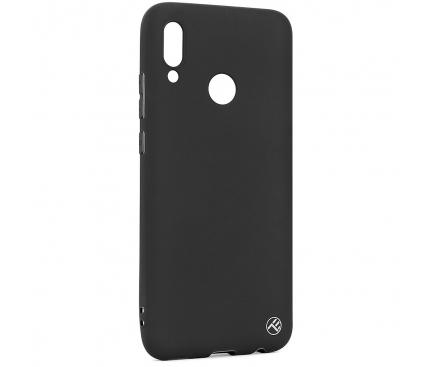 Husa TPU Tellur Matt pentru Huawei Y9 (2019), Neagra, Blister TLL121795