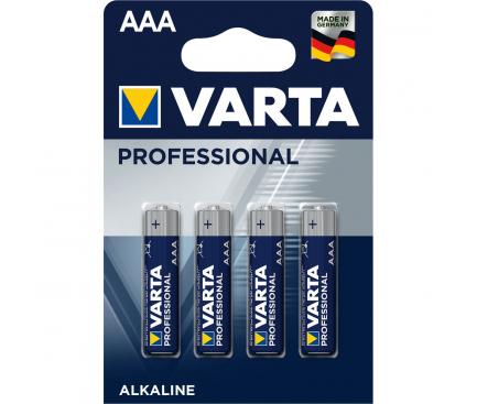 Set 4 x baterie R3 / AAA Varta Professional, Blister