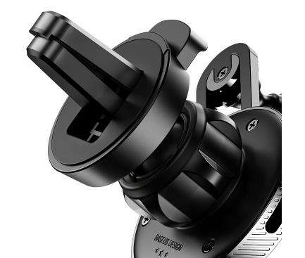 Suport Auto Universal Baseus YY, cu cablu Lightning, Negru, Blister SULYY-01