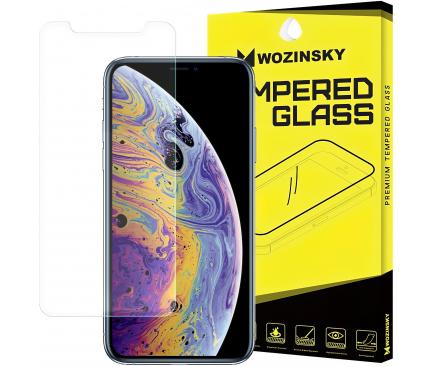 Folie Protectie Ecran WZK pentru Apple iPhone XS Max / Apple iPhone 11 Pro Max, Sticla securizata, 9H, Blister