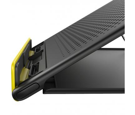 Suport laptop Baseus Mesh, Universal, 15 inch, Gri, Blister SUDD-GY