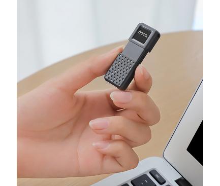 Memorie Externa HOCO Inteligent UD6, USB 2.0, 128Gb, Neagra, Blister