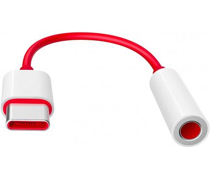 Adaptor Audio USB Type-C la 3.5 mm OnePlus, Rosu 1091100049