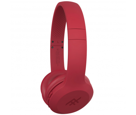 Handsfree Casti Bluetooth iFrogz On Ear Resound IFARWH-RDO, SinglePoint, Rosu, Blister