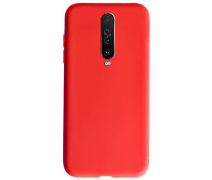 Husa TPU OEM Candy pentru Xiaomi Redmi K30, Rosie, Bulk