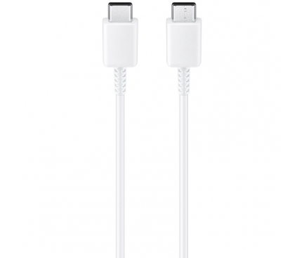 Cablu Date si Incarcare USB Tip-C - USB Tip-C Samsung EP-DA905, 1 m, Alb, Bulk EP-DA905BWE
