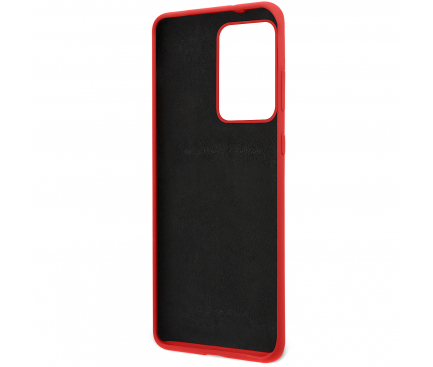 Husa TPU Ferrari SF pentru Samsung Galaxy S20 Ultra G988 / Samsung Galaxy S20 Ultra 5G G988, Rosie, Blister FESSIHCS69RE