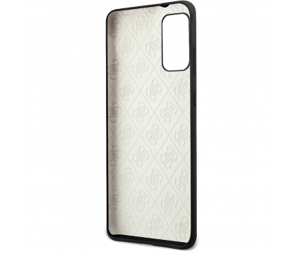 Husa TPU Guess pentru Samsung Galaxy S20 G980 / Samsung Galaxy S20 5G G981, 4G Tone Logo, Neagra, Blister GUHCS62LS4GBK