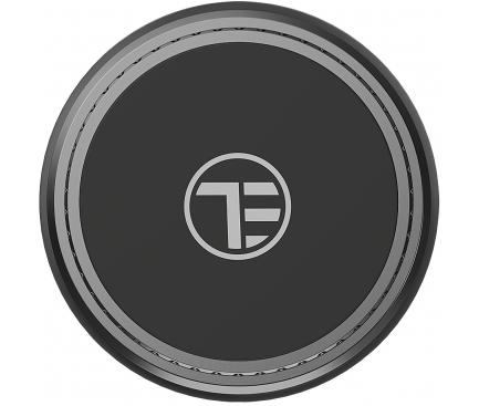 Suport Auto Universal Tellur FreshDot, Magnetic, Cu Odorizant Lamaie, Gri, Blister TLL171141