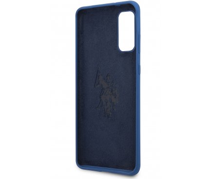 Husa TPU U.S. Polo pentru Samsung Galaxy S20 G980 / Samsung Galaxy S20 5G G981, Bleumarin, Blister USHCS62SLHRNV