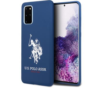 Husa TPU U.S. Polo pentru Samsung Galaxy S20 Plus G985 / Samsung Galaxy S20 Plus 5G G986, Bleumarin, Blister USHCS67SLHRNV