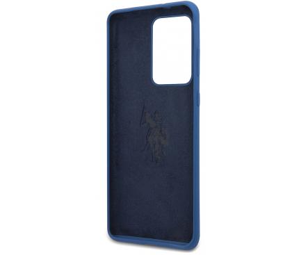 Husa TPU U.S. Polo pentru Samsung Galaxy S20 Ultra G988 / Samsung Galaxy S20 Ultra 5G G988, Bleumarin, Blister USHCS69SLHRNV