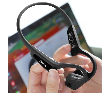 Handsfree Casti Bluetooth HOCO S17, Conductie, Sport, IP65, Negru, Blister