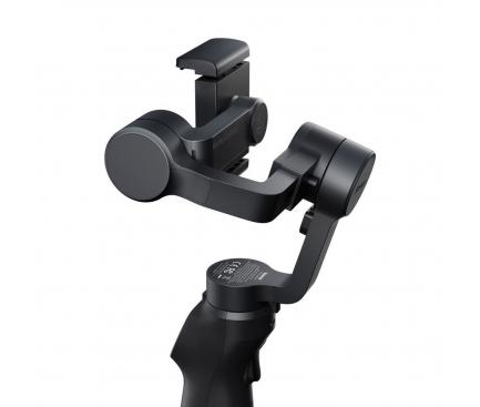 Stabilizator Gimbal Telefon Baseus BC01, 3-Axe, Butoane control, Gri SUYT-0G