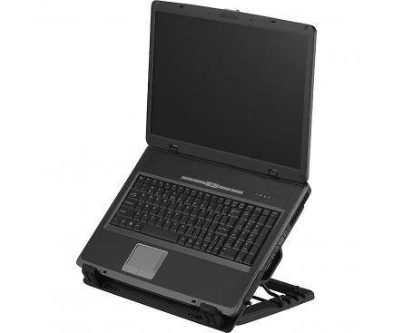Cooler extern Laptop SBOX CP-12, 17.3 inch, Negru, Blister NBA00128