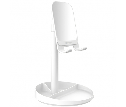 Suport birou Universal XO Design C42, Argintiu, Blister
