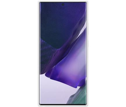 Husa TPU Samsung Galaxy Note 20 Ultra N985 / Samsung Galaxy Note 20 Ultra 5G N986, Silicone Cover, Alba, Blister EF-PN985TWEGEU