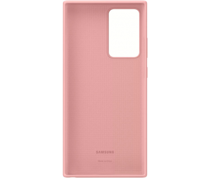 Husa TPU Samsung Galaxy Note 20 Ultra N985 / Samsung Galaxy Note 20 Ultra 5G N986, Silicone Cover, Bronz, Blister EF-PN985TAEGEU
