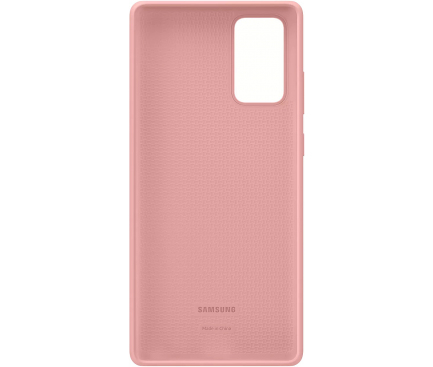 Husa TPU Samsung Galaxy Note 20 N980 / Samsung Galaxy Note 20 5G N981, Silicone Cover, Bronz, Blister EF-PN980TAEGEU