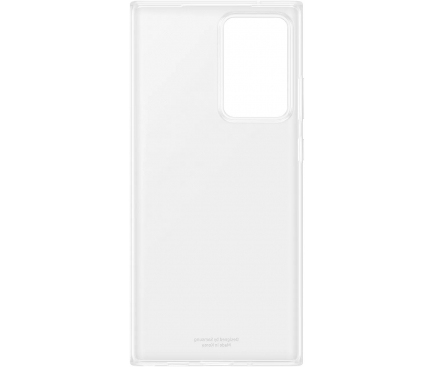 Husa TPU Samsung Galaxy Note 20 Ultra N985 / Samsung Galaxy Note 20 Ultra 5G N986, Clear Cover, Transparenta, Blister EF-QN985TTEGEU