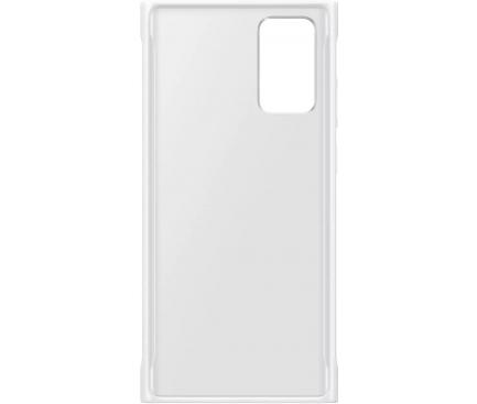 Husa Samsung Galaxy Note 20 N980 / Samsung Galaxy Note 20 5G N981, Clear Protective, Alba, Blister EF-GN980CWEGEU