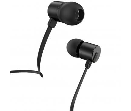 Handsfree Casti In-Ear HOCO M63 Ancient Sound, Cu microfon, 3.5 mm, Negru, Blister