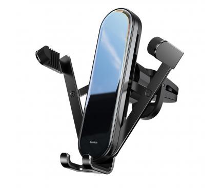 Suport Auto Universal Baseus pentru Telefon, Penguin Gravity, Negru, Blister SUYL-QE01