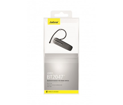 Handsfree Casca Bluetooth Jabra BT2047, MultiPoint, Negru, Blister