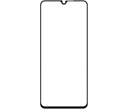 Folie Protectie Ecran BLUE Shield pentru Xiaomi Mi 10 Lite 5G, Sticla securizata, Full Face, Full Glue, 0.33mm, 9H, 2.5D, Neagra, Blister