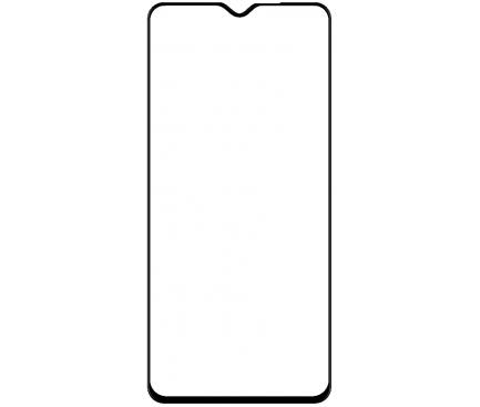Folie Protectie Ecran BLUE Shield pentru Xiaomi Redmi Note 8 Pro, Sticla securizata, Full Face, Full Glue, 0.33mm, 9H, 2.5D, Neagra, Blister