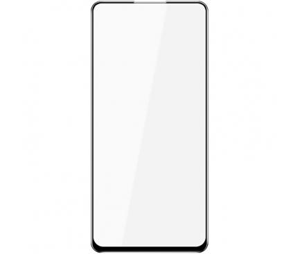 Folie Protectie Ecran BLUE Shield pentru Xiaomi Mi 9T / Xiaomi Redmi K20, Sticla securizata, Full Face, Full Glue, 0.33mm, 9H, 3D, Neagra, Blister