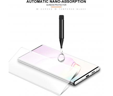 Folie Protectie Ecran BLUE Shield pentru Samsung Galaxy Note 9 N960, Sticla securizata, Full Face, Full Glue, 3D, UV, Blister
